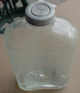 VINTAGE GENERAL ELECTRIC GE MONITOR TOP REFRIGERATOR WATER BOTTLE WITH