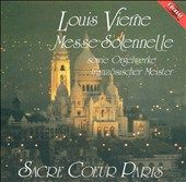 Louis Vierne Messe Solennelle by Naji Hakim, Fred Gramann CD, Sep 1994
