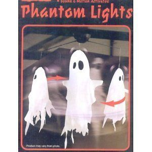 Phantom Ghost Lights Animated Hanging Halloween Decor