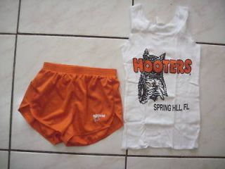 NEW HOOTERS SEXY & SILKY UNIFORM HALLOWEEN COSTUME M/XS FLORIDA WITH