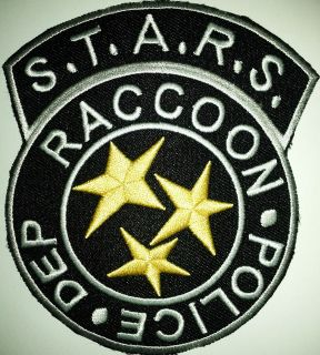 STARS RACOON POLICE RESIDENT EVIL DEP IRON ON PATCH