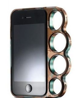 Lord Of The Rings knuckles case cover Skin for Iphone 4s Silver New