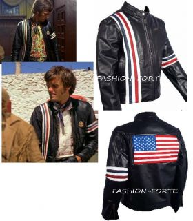 easy rider peter fonda leather jacketSizes XS 5XLAvailable in Faux
