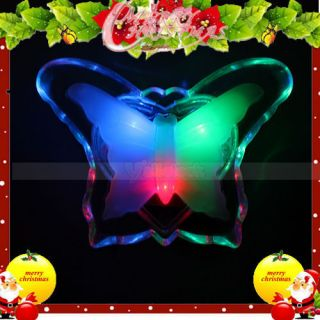 New 110 220V Butterfly Style LED Night Light Energy Saving Features