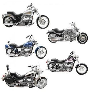 Harley Davidson Diecast Motorcycle Model Replica 118 Scale   Assorted