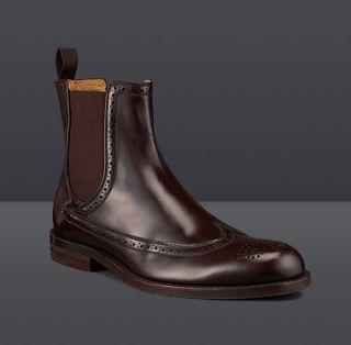 Jimmy Choo  Brompton  Brogue Ankle Boots  JIMMYCHOO