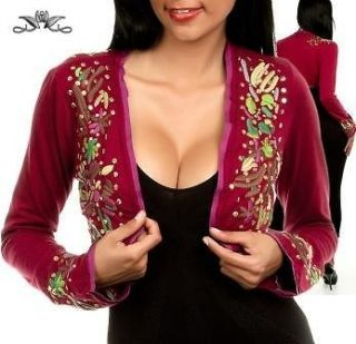 Gypsy BOHO TRIBAL Gothic Flamenco Belly Dance Dancing Shrug Bolero