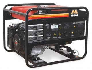 Generator, 6000/5000 Watt, 13 HP Honda OHV Low Oil Shutdown Engine