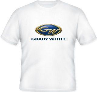 Grady White Boats gulfstream fisherman t shirt Small Medium Large XL
