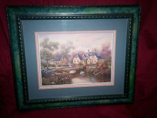 Carl Valente professionally framed print triple matted 10 x 12