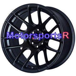 530 Flat Black Wheels Rims Concave Stance 98 Honda Civic Hatch SI EX