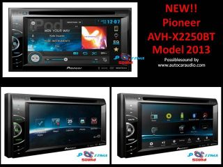 """AVH X2550BT Car stereo 6.1"""" WVGA/USB/iPod/ iPhone/AUX In DVD player"""