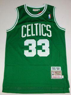 Newly listed Boston Celtics Larry Bird Jersey Size men M
