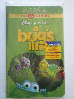 Bugs Life Gold Collection Disney New VHS