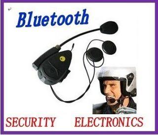 Motorcycle Helmet Bluetooth Headset Intercom /FM Radio