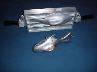 LB Downrigger Weight Mold Fish Shaped, Sinker mold