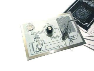 Rare Hieronymus Symbolic Machine Orgone Radionics + Flower of Life