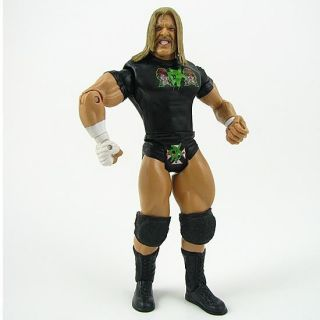 04M WWE Wrestling Triple H figure champion + belt