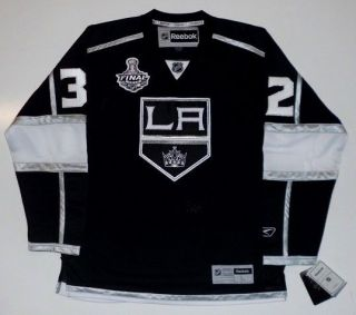 JONATHAN QUICK 2012 STANLEY CUP LOS ANGELES KINGS REEBOK JERSEY SEWN