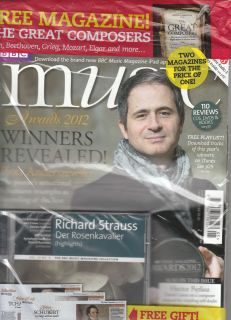 BBC MUSIC MAGAZINE May 2012 +RICHARD STRAUSS Der Rosenkavalier CD+1