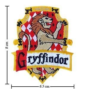Harry Potter Crest Iron Gryffindor Patch Badge 1pcs S1_S