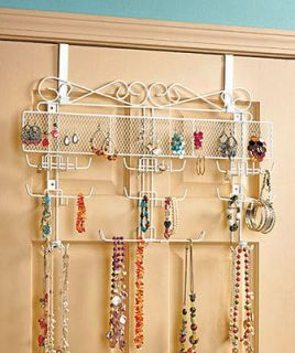 Longstem Bronze Door Jewelry Organizer Earring Storage Patented Rated