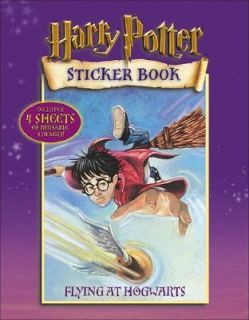 Harry Potter Sticker Book Bk. 2 Flying at Hogwarts by Warner Brothers