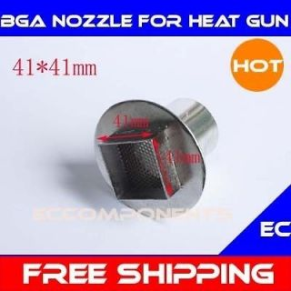 41x41 mm BGA Nozzle with Net for Hot Air Rework Soldering Handheld