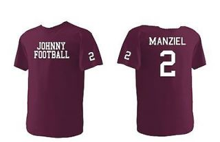 Johnny Football Texas A&M Aggies TAMU #2 Manziel T Shirt Jersey Youth