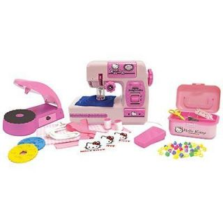 Hello Kitty Sewing Machine & Bead Applicator Activity Set Kit