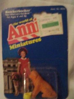 1982 NIB The World of Annie Miniatures Sandie Figurine