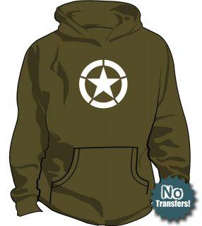 army hoodie in Sweats & Hoodies