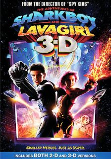 Adventures of Sharkboy and Lava Girl in 3 D (DVD)