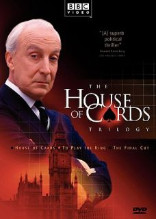 House of Cards Trilogy 3 Pack Gift Set DVD, 2003, 3 Disc Set