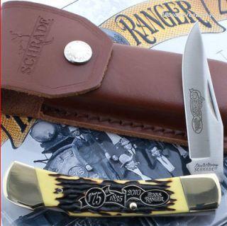 Ranger 175th Anniversary Folding Pocket Knife Uncle Henry Gift Tin