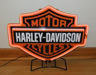 Harley Davidson Motor Cycles Wall Neon Sign