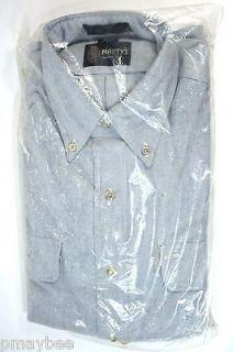 MENS Light Blue Cotton SHIRT   Martys Brand   Brighton Oxford