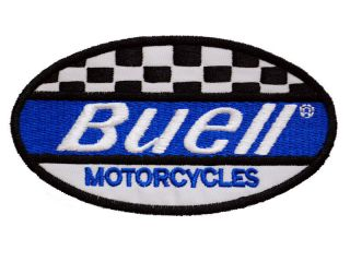 720 Buell Motorcycle Motobike leather Coat Jacket Cloth Embroidered