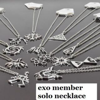 EXO K MAMA FROM PLANET MEMBER NECKLACE KOREA KPOP NEW