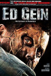 Ed Gein :The Butcher of Plainfield DVD   Kane Hodder