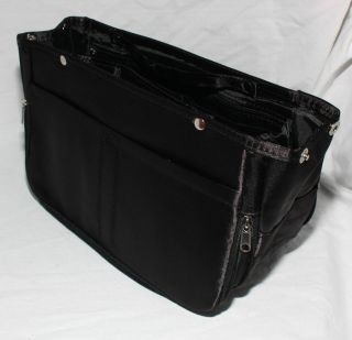 INSERT IN Handbag Purse ORGANIZER STORAGE Tote for Large XL Bag NEW