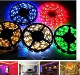 NEW 5M 3528 5050 SMD RGB Multi color 300LED waterproof LED Strip Light