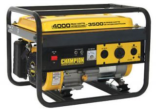 New Champion 4000 watt Gas Portable Gasoline Generator