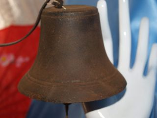 ANTIQUE CAST IRON MARINE NAUTICAL BELL