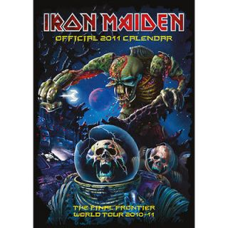 iron maiden calendar in Collectibles