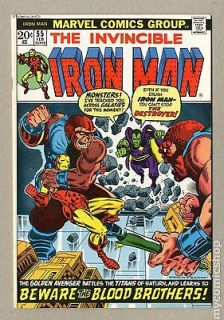 iron man 55 in Bronze Age (1970 83)