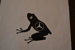 FROG STICKER DECAL SURFING SURFER KITESURFING KAYAKING CAMPER VAN