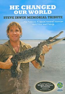 He Changed Our World Steve Irwin Memorial Tribute DVD, 2006