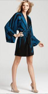 550 NWT ISSA LONDON KIMONO WRAP DRESS US4 UK8
