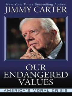 Moral Crisis by Jimmy Carter 2006, Hardcover, Large Type